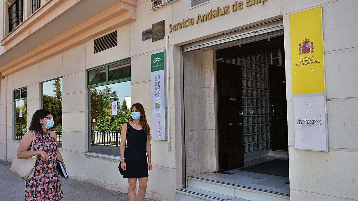 Oficina del Servicio Andaluz de Empleo (SAE).