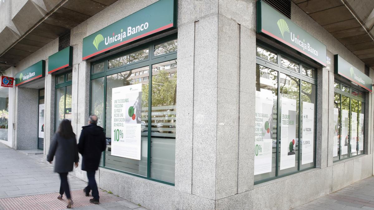 Oficina de Unicaja Banco.