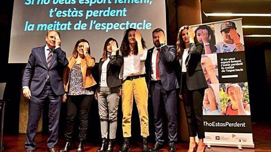 #ThoEstàsperdent, una campanya per visualitzar l'esport femení als mitjans