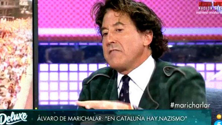 Jorge Javier expulsa a Marichalar de 'Sábado Deluxe'