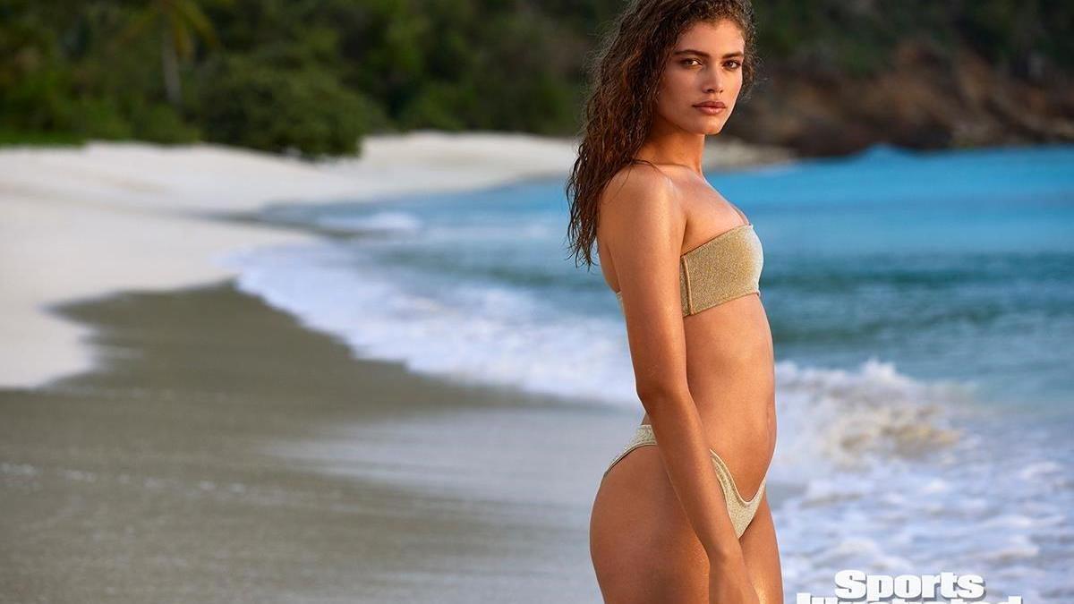 Valentina Sampaio, primera modelo transexual de 'Sports Illustrated'