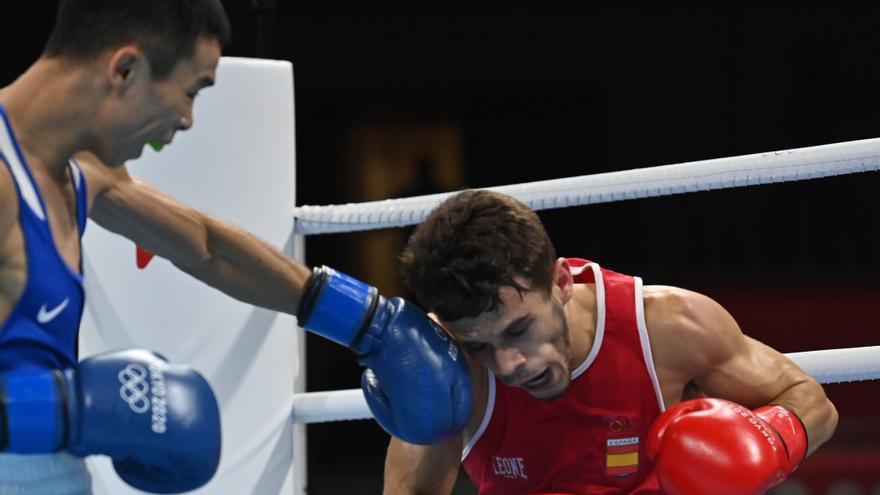 Gabriel Escobar cae en los cuartos del peso mosca