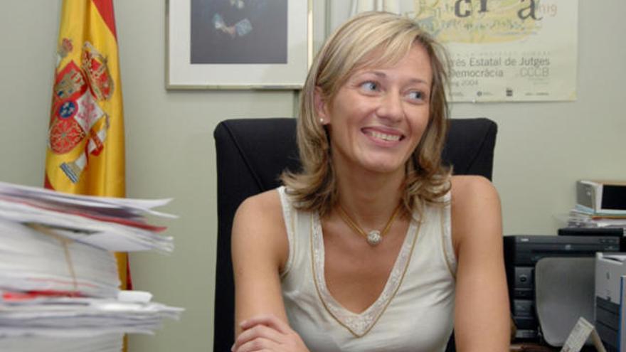 El Poder Judicial estudiará si expedienta a la juez Victoria Rosell