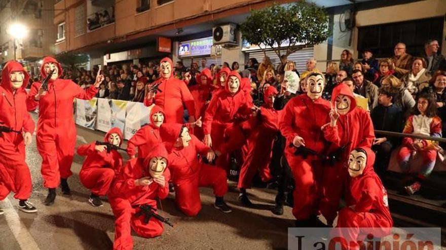 Primer desfile del Carnaval de Águilas (I)