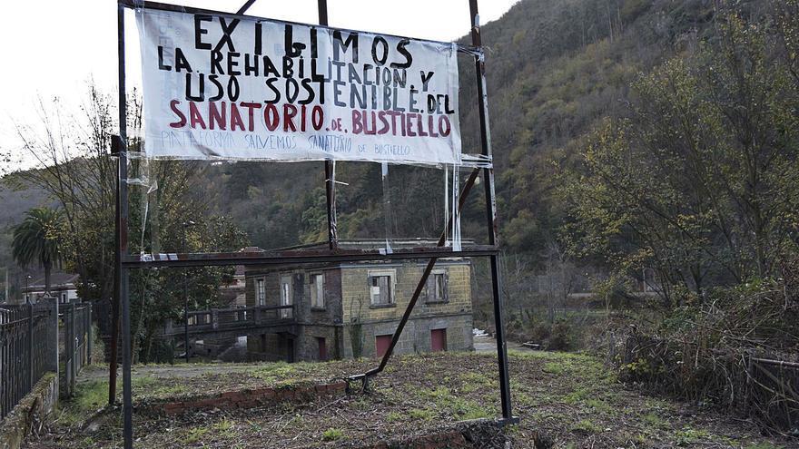 El Principado desecha reparar el sanatorio de Bustiello hasta que tenga un nuevo uso