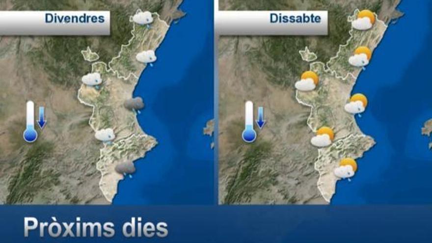 La ciudad de València y todos los municipios que suspenden las clases el viernes