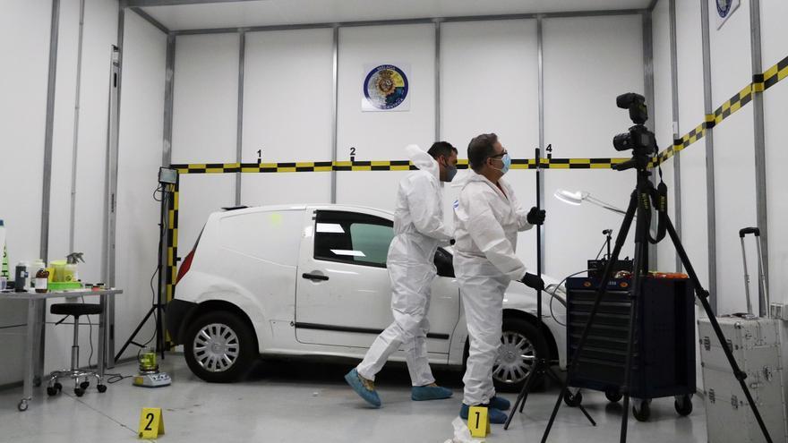 La Policía usa en Málaga una técnica pionera para la búsqueda de evidencias forenses