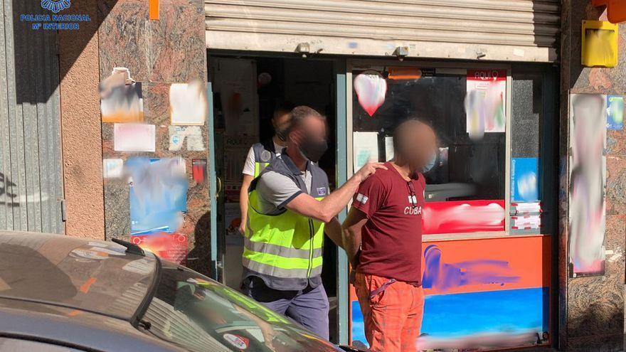 Diez detenidos en una trama de blanqueo de un millón de euros de la droga en Palma