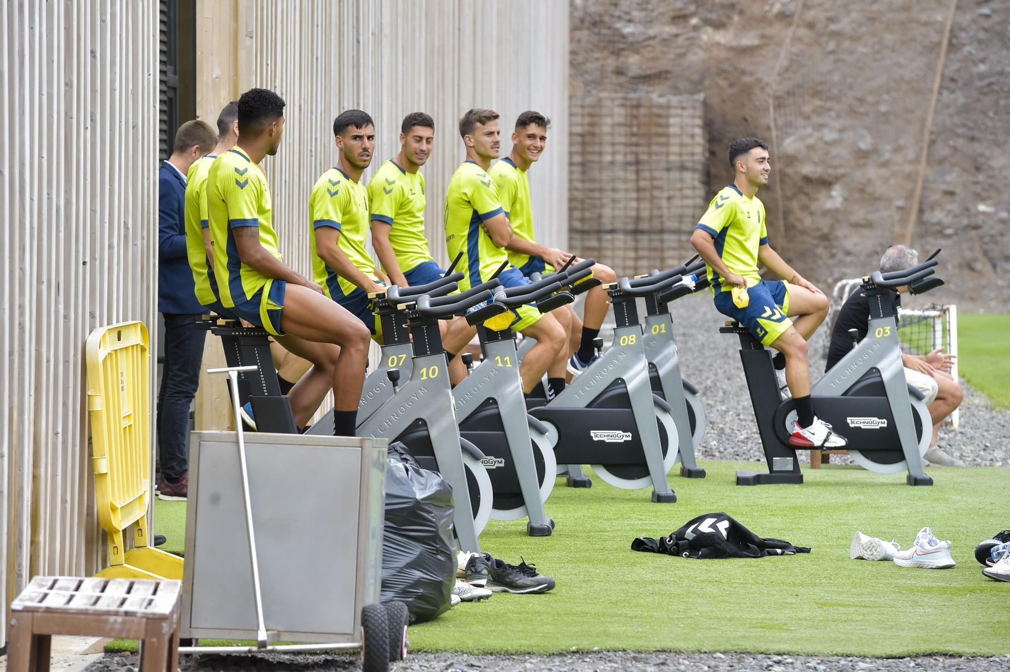 Entrenamiento UD Las Palmas (24/08/2021)