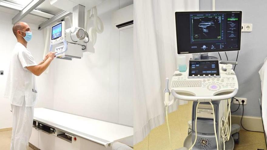 L'hospital de Palamós compra nous equips amb una donació anònima feta el 2019
