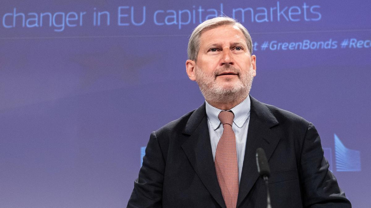 El comisario de Presupuestos, Johannes Hahn.