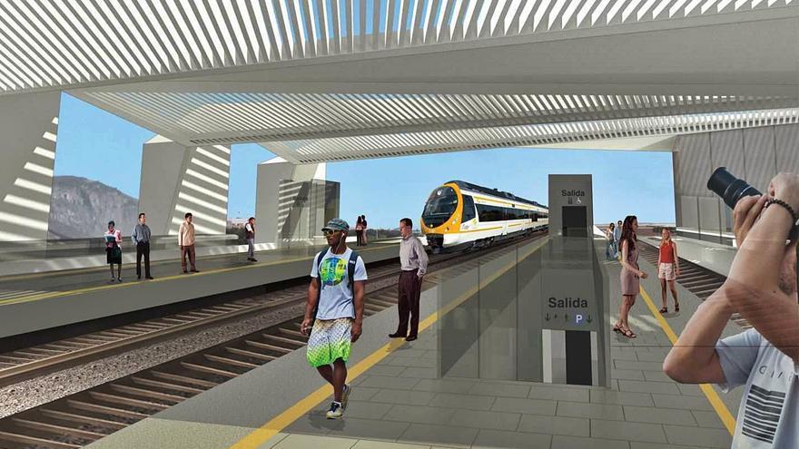 El Cabildo acepta el debate del tren, pero cree que la ULPGC llega tarde