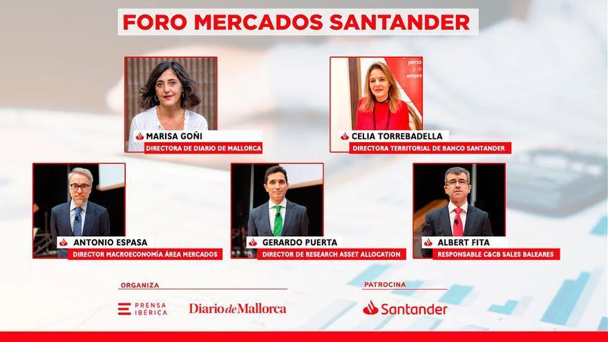 Webinar Foro Mercados Banco Santander
