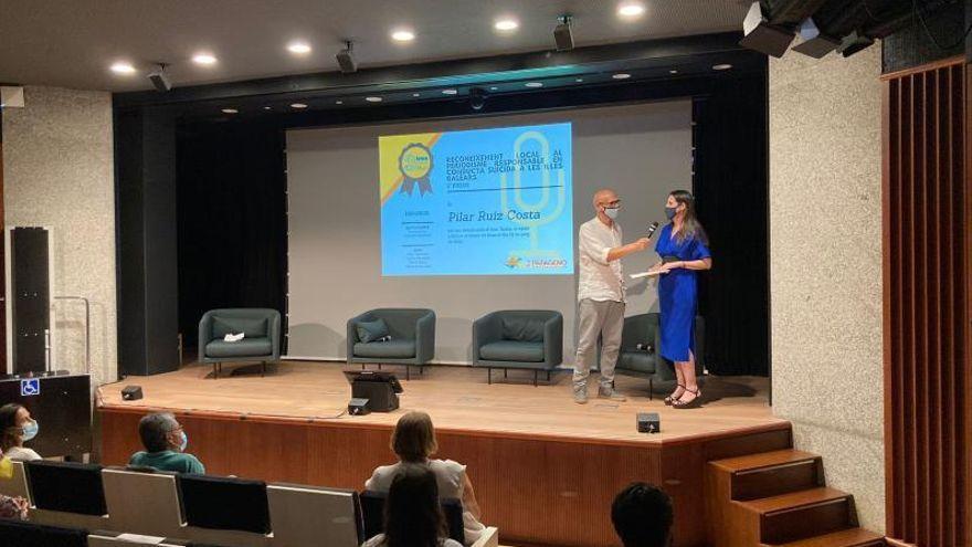 Pilar Ruiz Costa, premiada por su artículo 'Saltar al vacío', publicado en 'Diario de Ibiza'