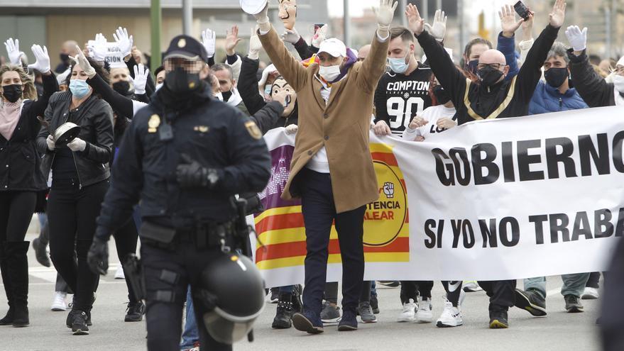 Piden autorización para convocar una nueva manifestación contra el Govern de Francina Armengol el día 1