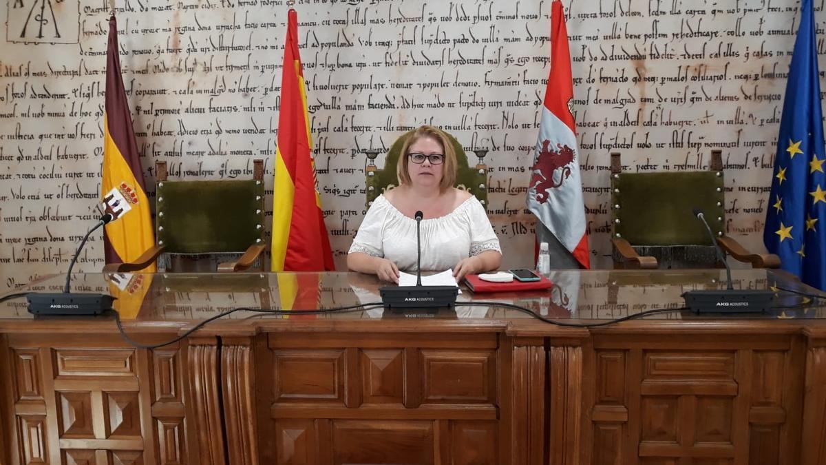 Marian Martínez, concejala de Cultura en Benavente.