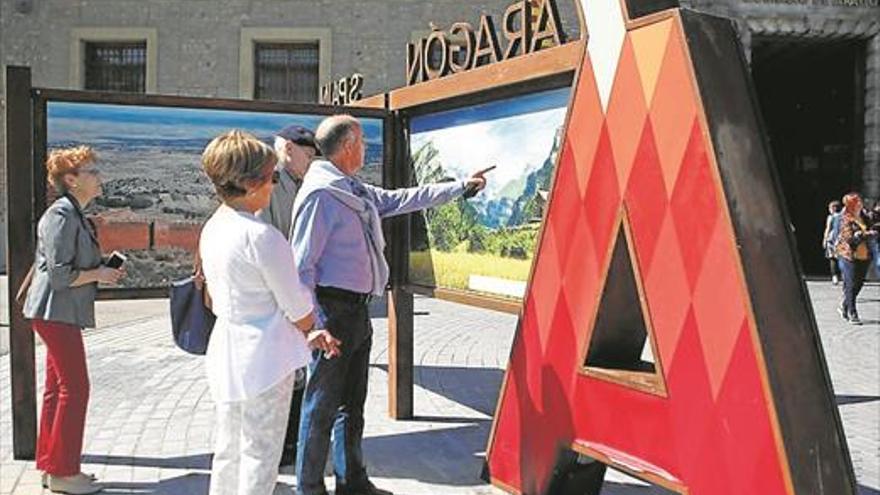 Aragón ya tiene su lugar en el mapa mundi