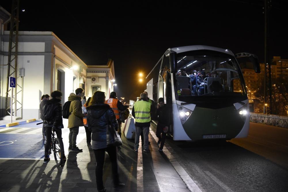 Accident entre dos trens entre Manresa i Sant Vice