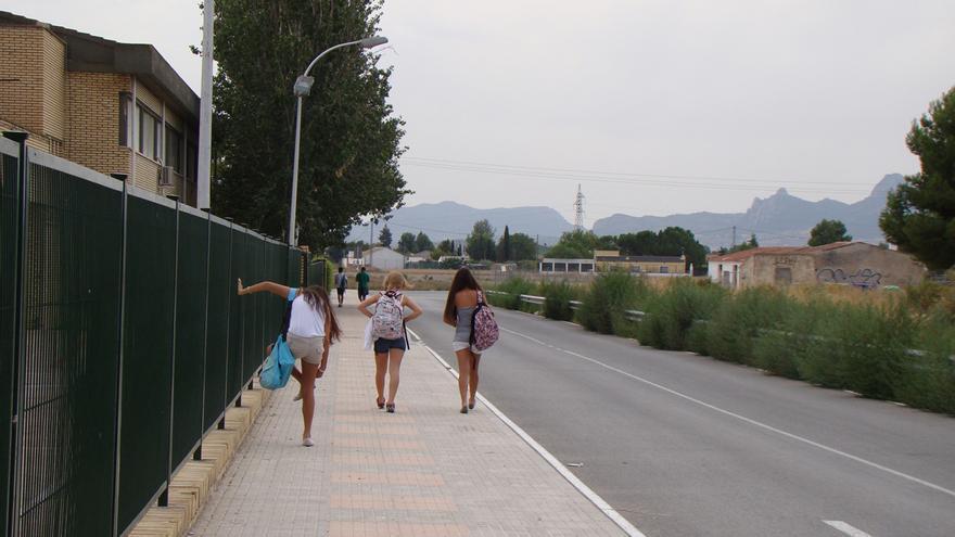 Dos alumnos dan positivo en coronavirus en el IES Navarro Santafé de Villena