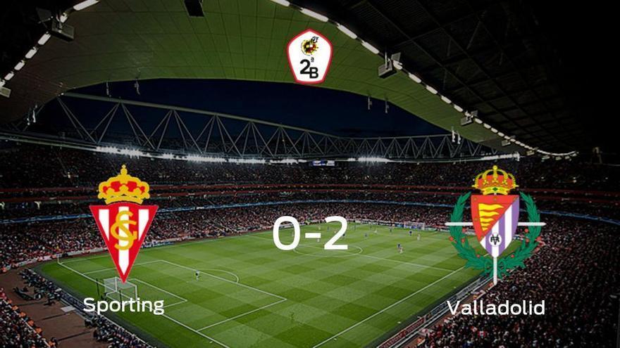 El Valladolid B se lleva los tres puntos ante el Sporting B (0-2)