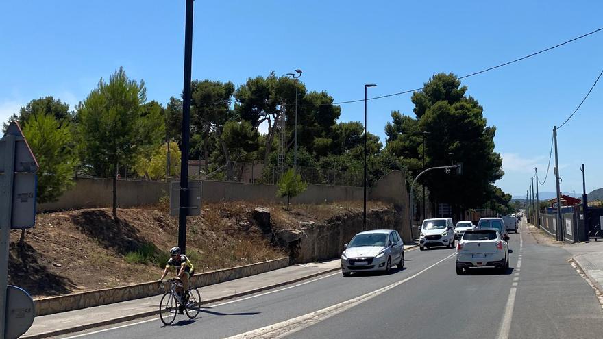 Empiezan las obras de mejora de la carretera de Torrent a Montserrat