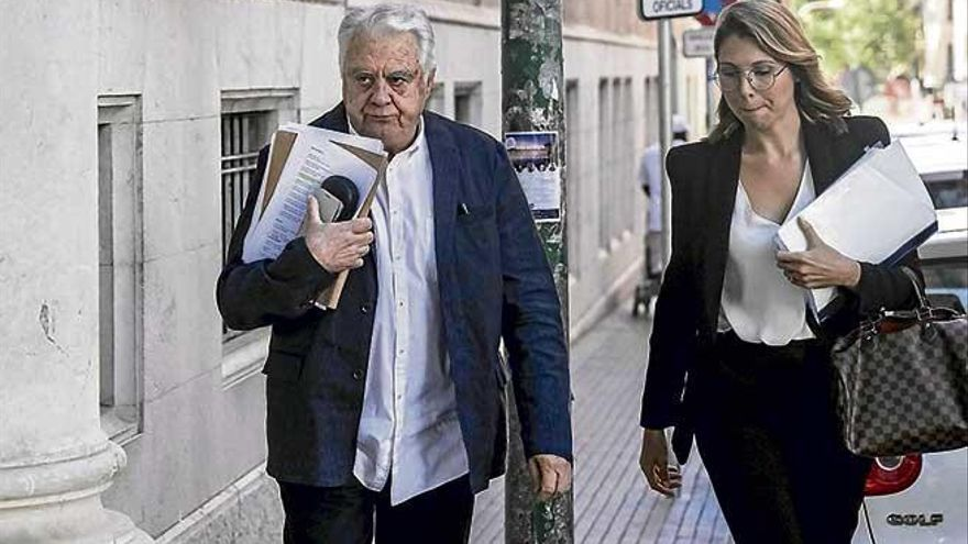 El perito del Palma Arena niega contactos previos con el juez Castro