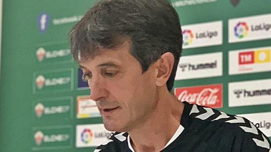Pacheta, entrenador del Elche CF: «Es el partido del año»