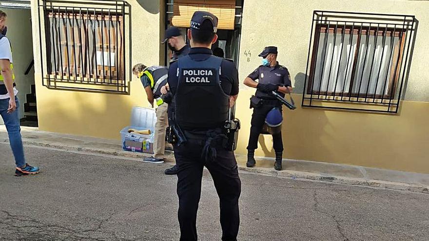 Un detenido por tráfico de drogas se fuga de los juzgados de Requena