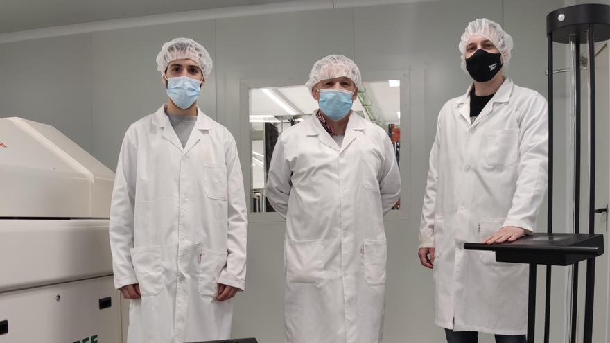 Una empresa de Siero crea un sistema que desactiva el covid en el aire en 0,02 segundos