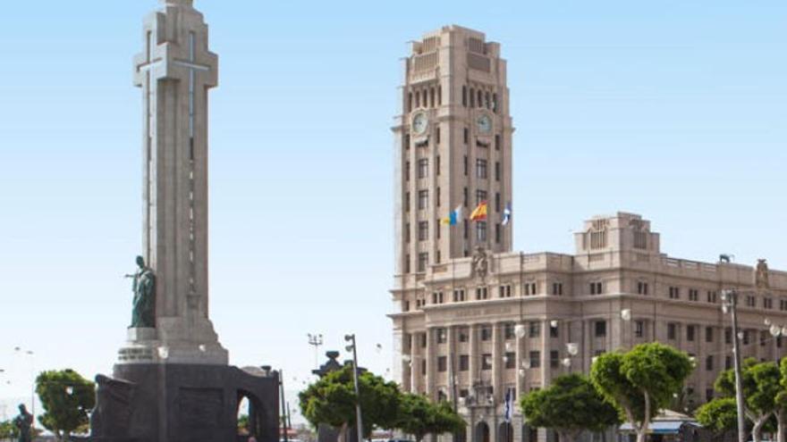 El edificio del Cabildo Insular de Tenerife