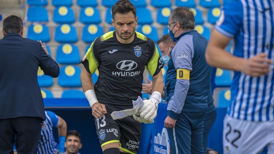 René Román renueva con el Atlético Baleares hasta los 39 años