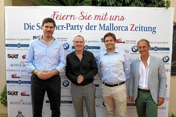 Víctor Ribot (Grupo Quirón), Ciro Krauthausen, Francisco Ferrer (Grupo Quirón), Sebastián Oliver