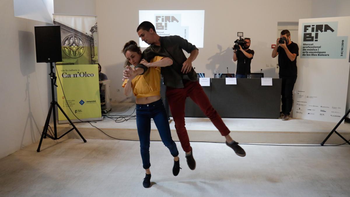 Presentación de Fira B! en 2019 en Can Oleo.