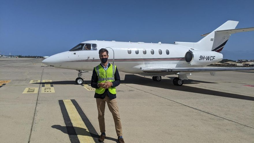 Wacaf Air, la apuesta de Grupo Martínez por la aviación ejecutiva en Canarias