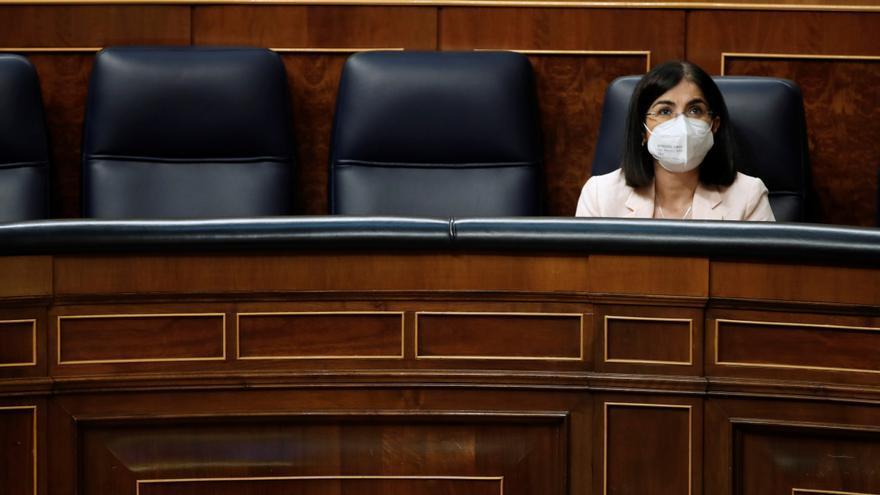El Congreso aprueba el fin de las mascarillas en exteriores en plena quinta ola