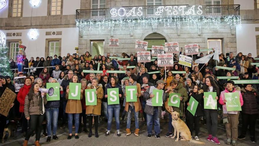 PACMA pide en Vigo endurecer las penas por maltrato animal