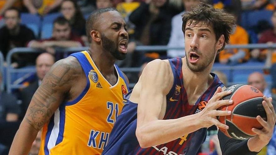 El Barcelona acaba con su mala racha ante el Khimki
