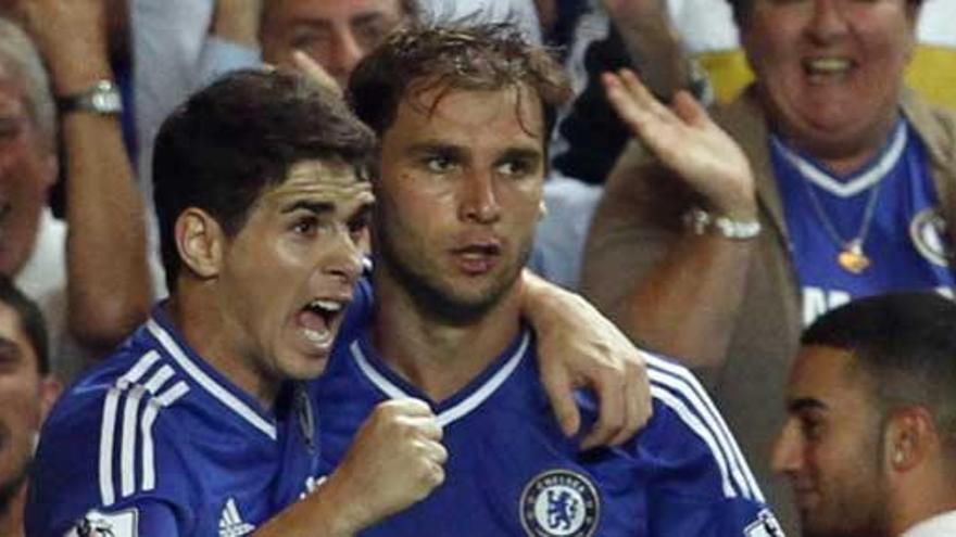 El Chelsea de Mourinho, líder provisional tras ganar con apuros