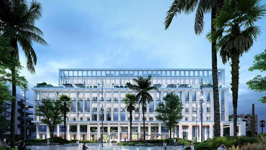 Insur invertirá 29 millones en construir el edificio de oficinas junto a Tabacalera, con capacidad para 750 trabajadores