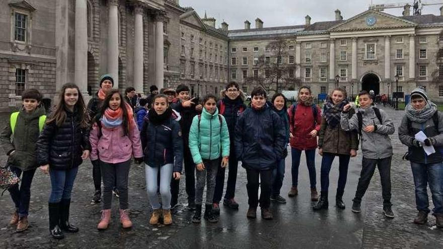 Alumnos de la ESO del IES Los Sauces participan en un viaje de inmersión linguística en Dublín