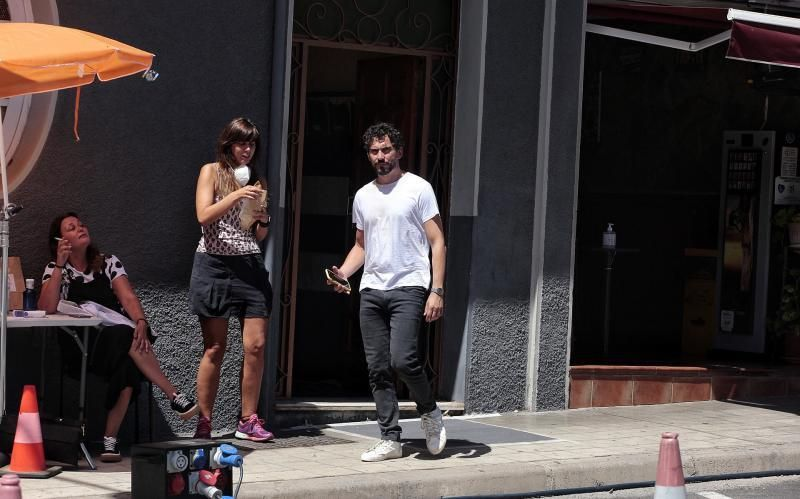 """Rodaje de """"Mamá o papá"""" Fotos de Paco León   06/08/2020    06/08/2020   Fotógrafo: María Pisaca Gámez"""