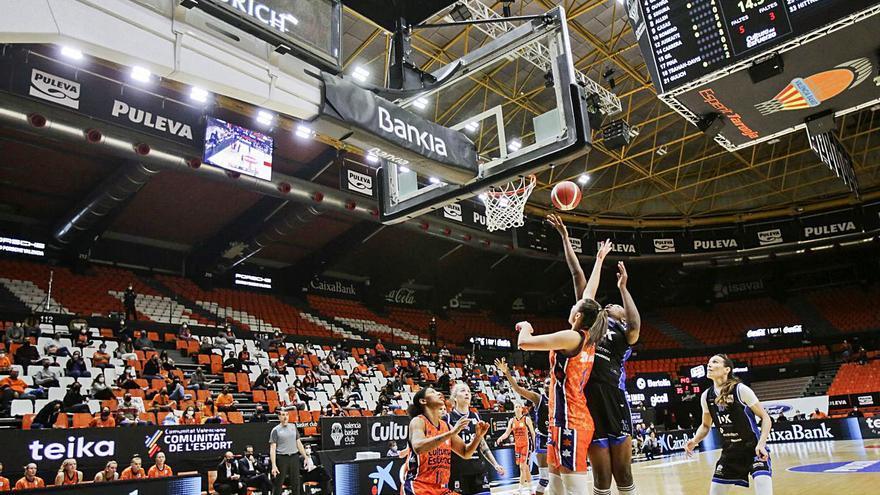 El Valencia Basket se va al «play-off» como segundo