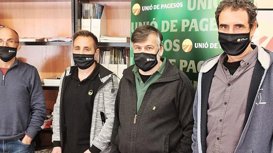 Unió de Pagesos arriba a les eleccions amb un clam contra la ingerència fotovoltaica
