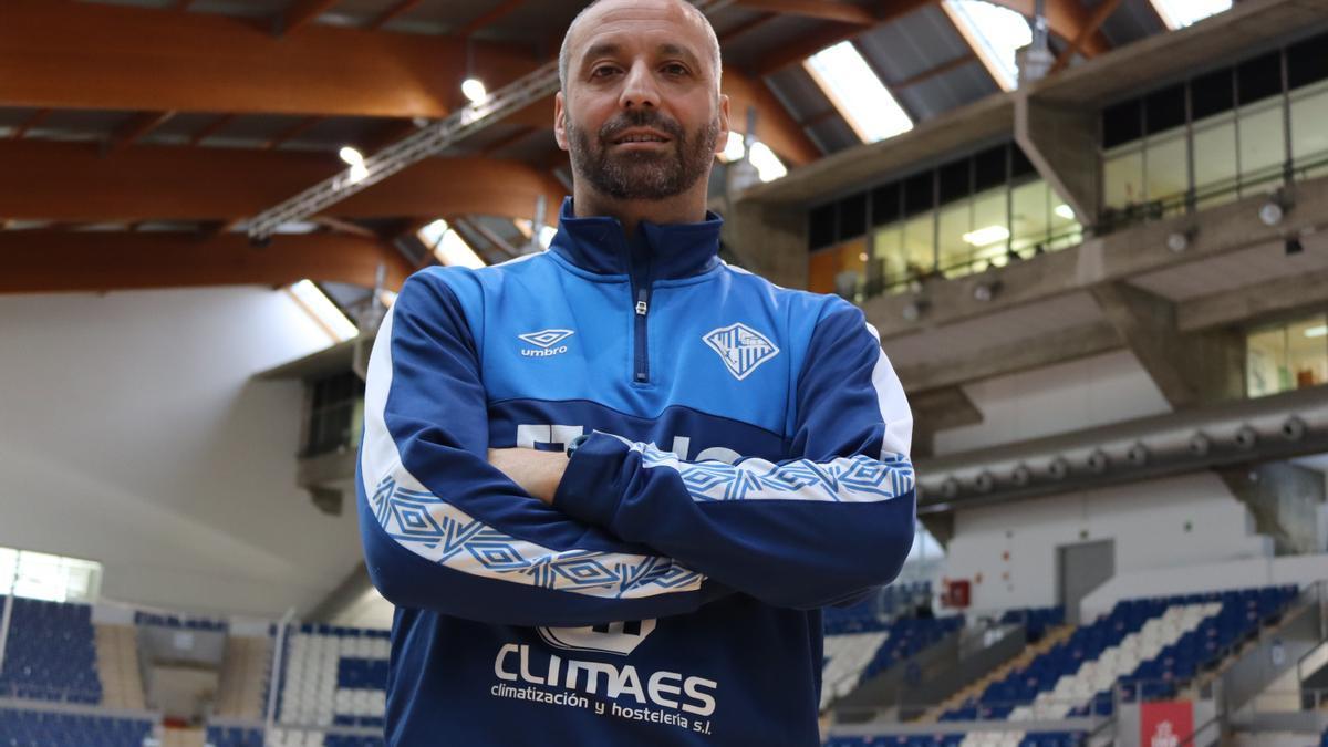 Antonio Vadillo, técnico del Palma Futsal