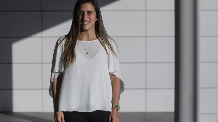 """María Yenes, vicepresidenta de la Asturiana: """"Hacía falta que la federación diera más visibilidad a la gente joven"""""""