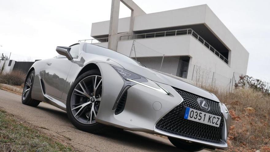 Probamos el Lexus LC 500: un prototipo listo para rodar por carretera