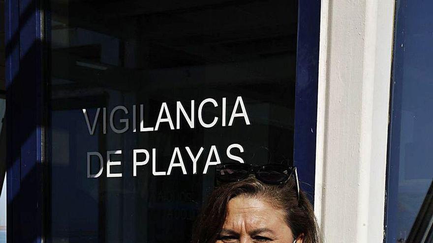 """""""En San Lorenzo hubo más auxilios este año por cómo dejaron la arena los temporales"""""""