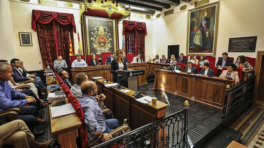 Declaración de bienes de copia y pega en el Ayuntamiento de Elche