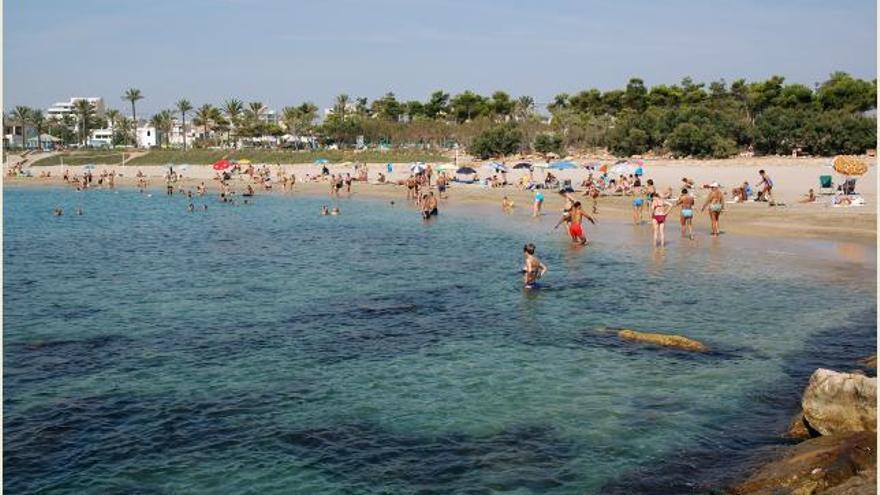 Playa Fora Forat de Vinaròs.