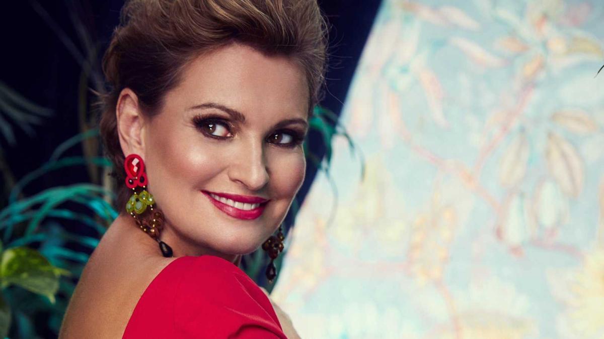 La cantante Ainhoa Arteta
